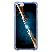 Capa Intelimix Anti-Impacto Azul Apple iPhone 6 6s Religião - RE13