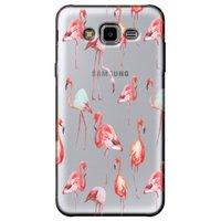 Capa  Personalizada para Samsung Galaxy J7 Neo - Flamingos - TP315