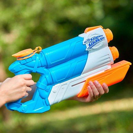 Lançador Nerf Super Soaker Twin Tide - Hasbro