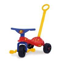 Triciclo Cachorrinho Com Empurrador Proteção e Cestinha - Xalingo