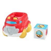 Fisher Price - Veículos Blocos Surpresa - Carro de Bombeiros - Mattel