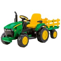 Trator Elétrico John Deere Ground Force 12V - Peg-Perego