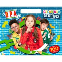 Livro DPA Colorindo com os Detetives - Ciranda Cultural