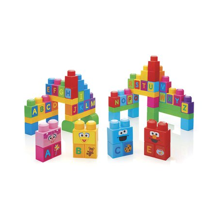 Mega Bloks Sacola Vamos Construir a Vila Sésamo - Mattel