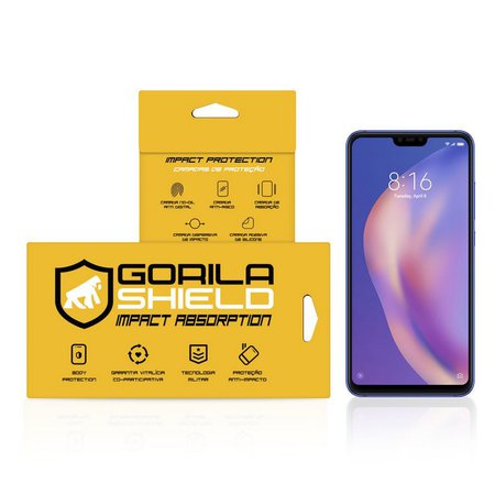 Película de Vidro Dupla para Xiaomi Mi 8 Lite - Gorila Shield
