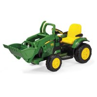 Mini Escavadeira Elétrica John Deere Ground Loader 12V - Peg-Perego