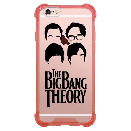 Capa Intelimix Anti-Impacto Rosa Apple iPhone 6 6s The Big Band Theory - TV95