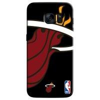 Capa de Celular NBA - Samsung Galaxy S6 Edge - Miami Heat - D17