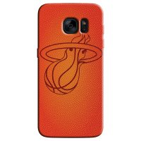 Capa de Celular NBA - Samsung Galaxy S6 Edge - Miami Heat - C16