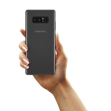 Película Traseira de Fibra de Carbono Transparente para Samsung Galaxy Note 8 - Gorila Shield