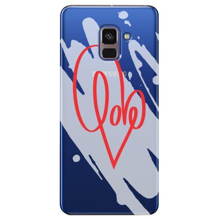 Capa Personalizada para Samsung Galaxy A8 2018 Plus - Love - TP382