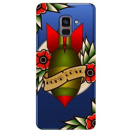 Capa Personalizada para Samsung Galaxy A8 2018 Plus - Bomb Love - TP381