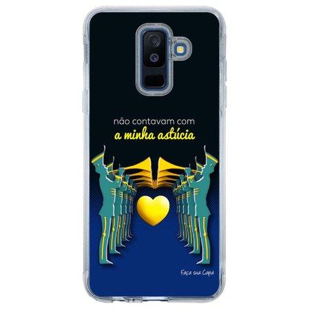 Capa Personalizada para Samsung Galaxy A6 Plus A605 Nostalgia - NT10