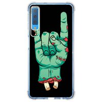 Capa Personalizada Samsung Galaxy A7 2018 Rock'n Roll - AT06