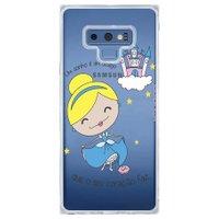 Capa Personalizada Samsung Galaxy Note 9 Princesa Cinderela - TP127