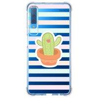 Capa Personalizada Samsung Galaxy A7 2018 Cacto - CA04