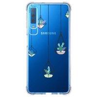 Capa Personalizada Samsung Galaxy A7 2018 Cacto - CA05