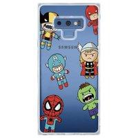 Capa Personalizada Samsung Galaxy Note 9 Super Heróis - TP118