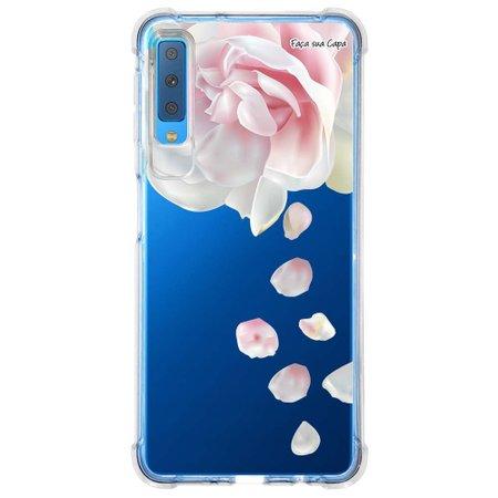 Capa Personalizada Samsung Galaxy A7 2018 Floral - FL29