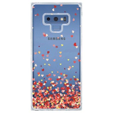 Capa Personalizada Samsung Galaxy Note 9 Corações - TP168