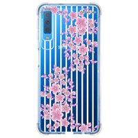 Capa Personalizada Samsung Galaxy A7 2018 Floral - FL27