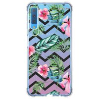 Capa Personalizada Samsung Galaxy A7 2018 Floral - FL23