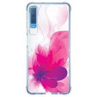 Capa Personalizada Samsung Galaxy A7 2018 Floral - FL19