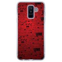 Capa Personalizada para Samsung Galaxy A6 Plus A605 Love - LV06