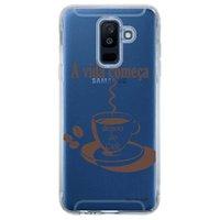 Capa Personalizada para Samsung Galaxy A6 Plus A605 Frases - TP01