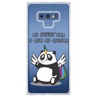 Capa Personalizada Samsung Galaxy Note 9 Unicórnio - TP185