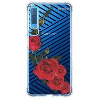 Capa Personalizada Samsung Galaxy A7 2018 Floral - FL32