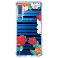Capa Personalizada Samsung Galaxy A7 2018 Floral - FL33