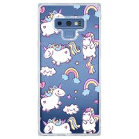 Capa Personalizada Samsung Galaxy Note 9 Unicórnios - TP183