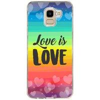 Capa Personalizada Samsung Galaxy J6 J600 LGBT - LB12