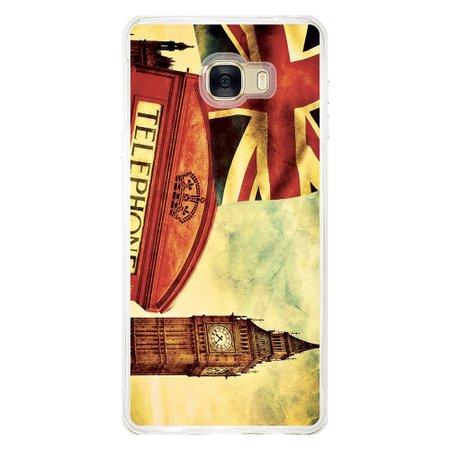 Capa Personalizada para Samsung Galaxy C7 C700 London - CD15