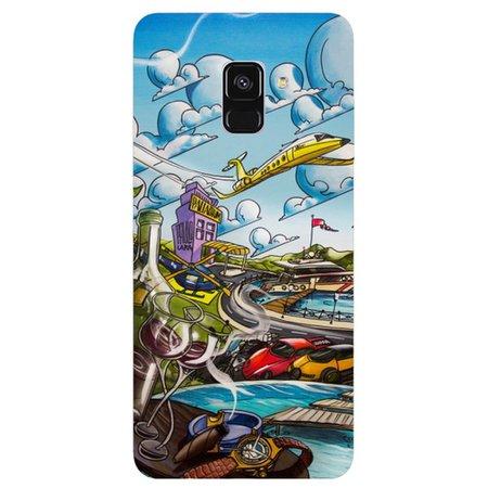 Capa Personalizada para Samsung Galaxy A8 2018 - Elite - DE30