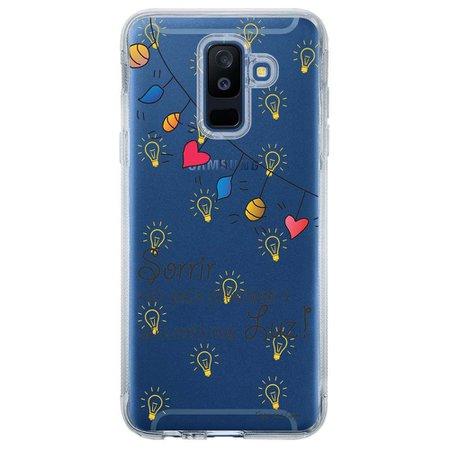 Capa Personalizada para Samsung Galaxy A6 Plus A605 Frases - TP115