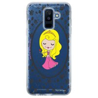 Capa Personalizada para Samsung Galaxy A6 Plus A605 Princesa Bela Adormecida - TP126