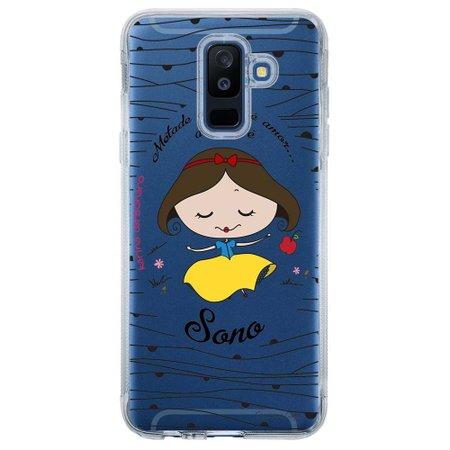 Capa Personalizada para Samsung Galaxy A6 Plus A605 Princesa Branca de Neve - TP101