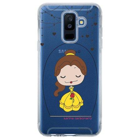 Capa Personalizada para Samsung Galaxy A6 Plus A605 Princesa Bela - TP100