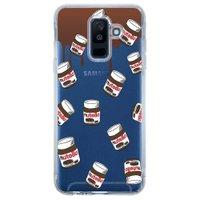 Capa Personalizada para Samsung Galaxy A6 Plus A605 Nutella - TP109