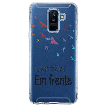 Capa Personalizada para Samsung Galaxy A6 Plus A605 Frases - TP43