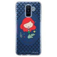 Capa Personalizada para Samsung Galaxy A6 Plus A605 Princesa Ariel - TP99