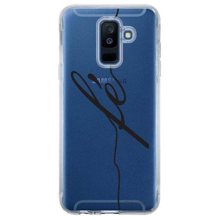 Capa Personalizada para Samsung Galaxy A6 Plus A605 Frases - TP45