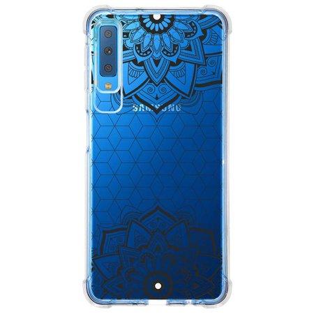 Capa Personalizada Samsung Galaxy A7 2018 Mandala - MD13