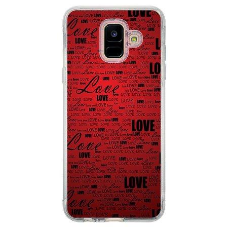 Capa Personalizada Samsung Galaxy A6 A600 Love - LV06