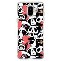 Capa Personalizada Samsung Galaxy A6 A600 Love - LV21