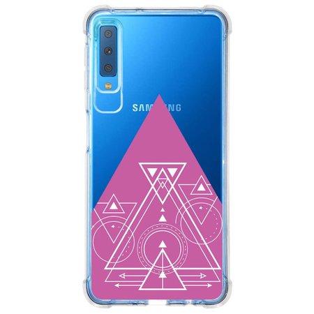 Capa Personalizada Samsung Galaxy A7 2018 Minimalista - MN10