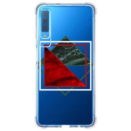 Capa Personalizada Samsung Galaxy A7 2018 Mármore - MM10