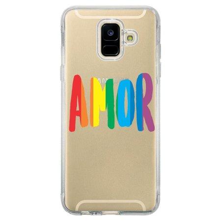Capa Personalizada Samsung Galaxy A6 A600 LGBT - LB01